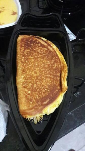 Omelete recheado