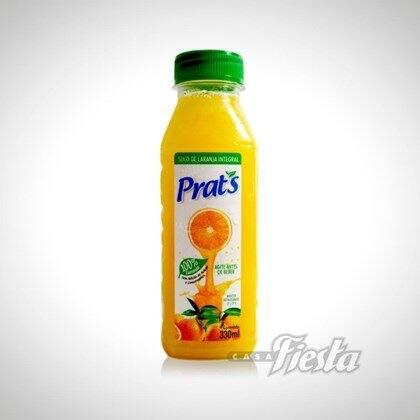 Suco de laranja prats 330ml