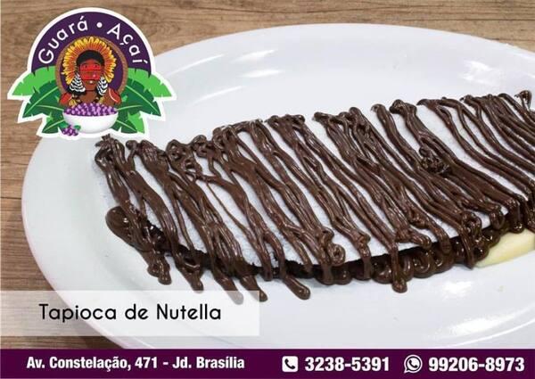 Tapioca Nutella