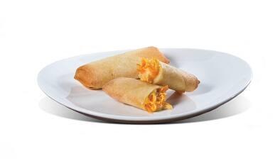 Rolinho de frango com queijo - 2 unidades