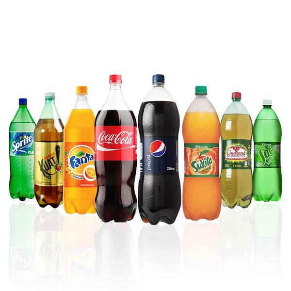 Refrigerantes 2 litros