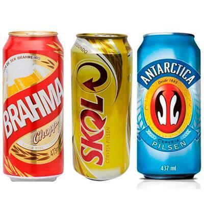 Cervejas latão 473ml