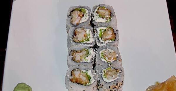 Uramaki ebi tempura maki