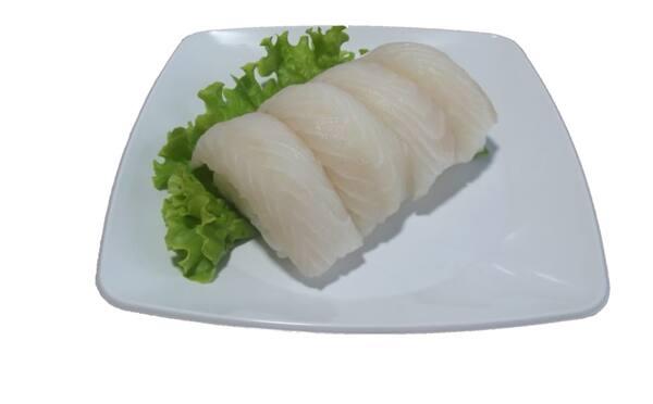 Niguiri peixe branco do dia