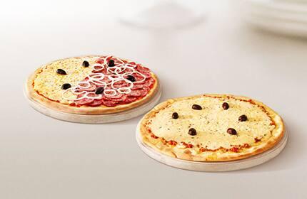 Promoção pizza casadinha (2 pizzas)