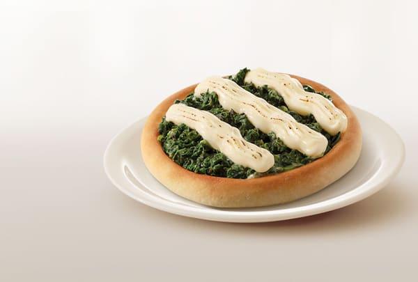 Esfiha premium de espinafre com Philadelphia