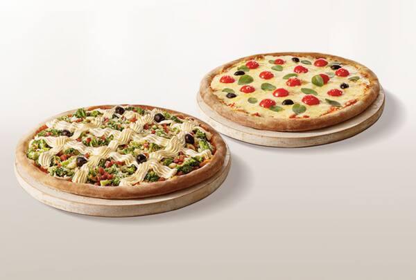 Promoção pizza casadinha genialle (2 pizzas)