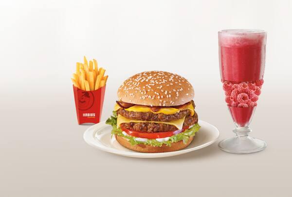 Combo Mega Bacon (Batata Média + Suco Premium 500ml)