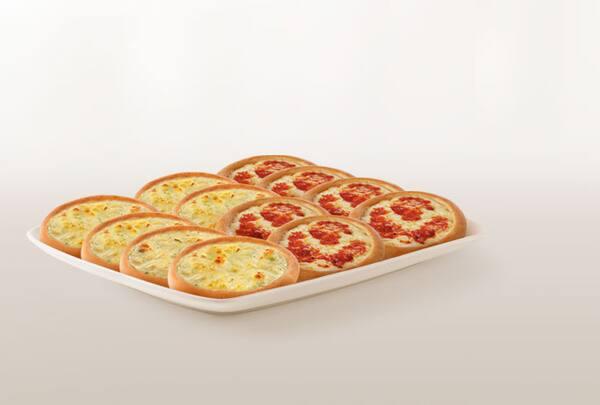 Promoção compre 10 leve 12 esfihas (queijo ou italianinha)