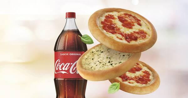 Compre 10, leve 12 bib'sfihas de queijo e/ou italianinha + refri 2l ou suco 1l