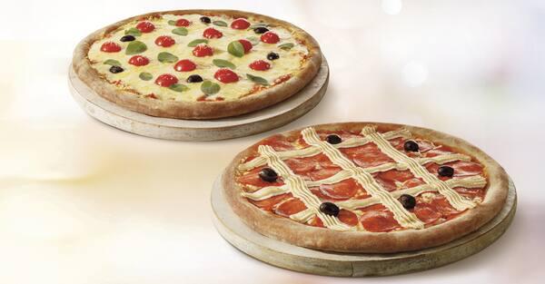 Mais por menos: pizza genialle casadinha