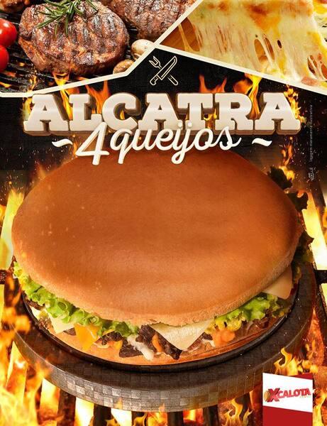 19. Calota Alcatra 4 Queijos