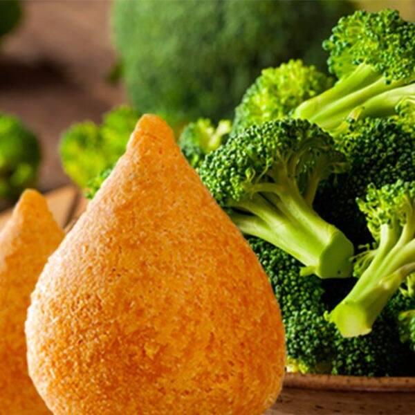 Coxinha de Brócolis