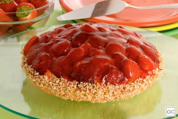 Torta de morango 19cm