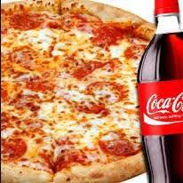 Combo 2 pizzas grandes + 1 Coca-Cola 2l