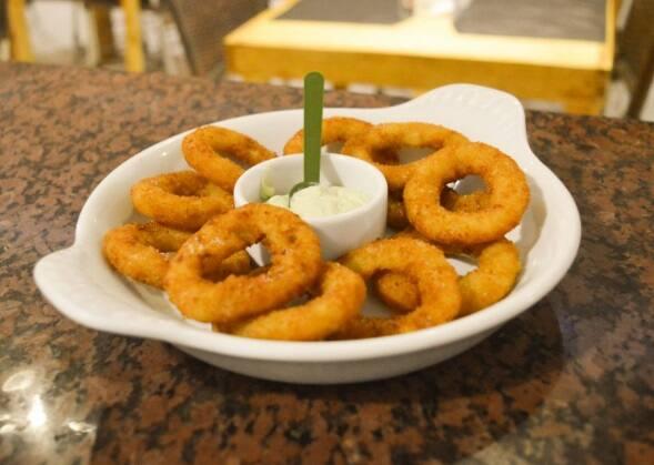 Porção de cebola (onion rings)