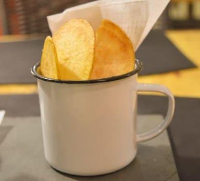 Porção de batata chips - pequena