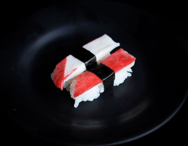 Niguiri de camarão - 2 peças