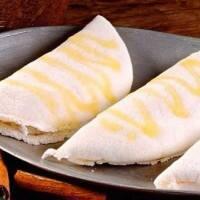 Tapioca na manteiga