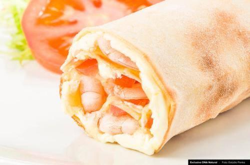 Wrap camarão