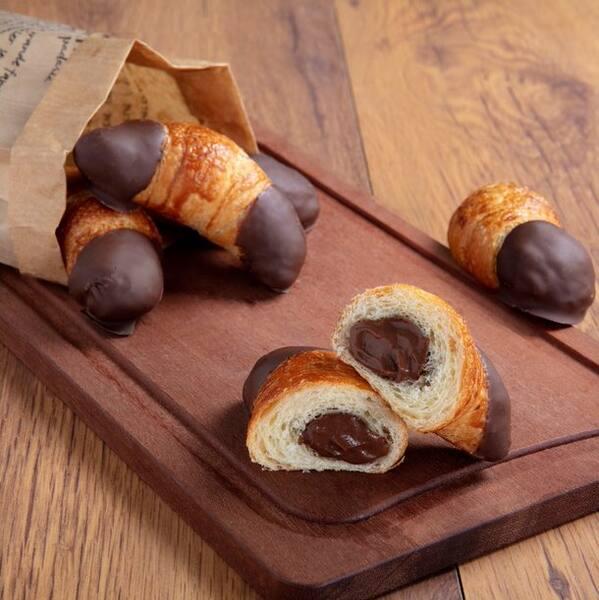 Croissant chocolate mini