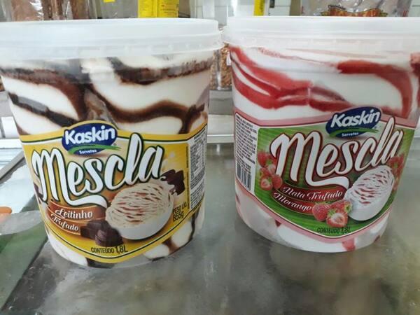 sorvete de pote mesclado 1,8 ml