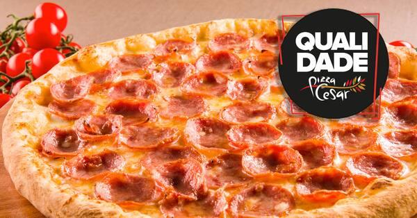 Pizza de pepperoni tradicional