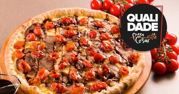Pizza grande - a preferida do chef