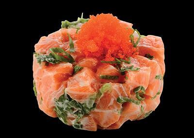 101010 tartar de salmão