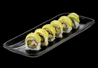 102511 - dragon roll - 8 unidades