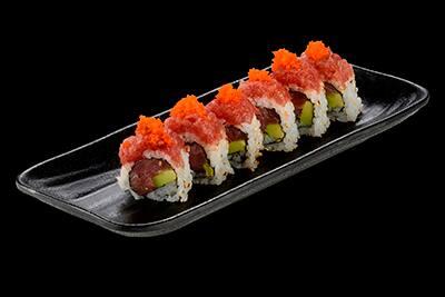 102513 - uramaki spicy tuna especial - 8 unidades