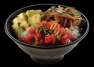 101014 - poke chic atum spicy
