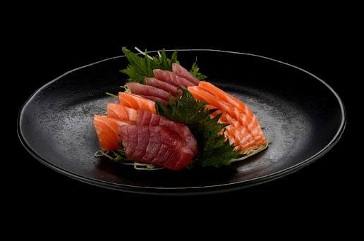 104009 - sashimi salmão e atum