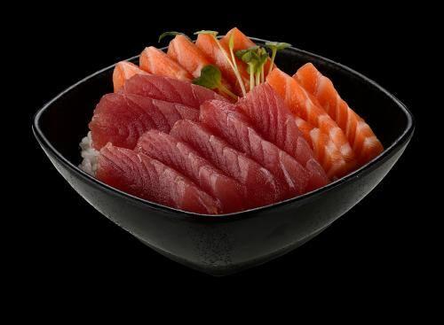 101803 - tirashi salmão e atum
