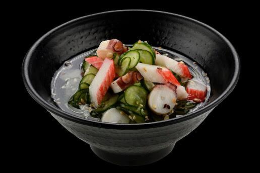 101003 - sunomono com frutos do mar
