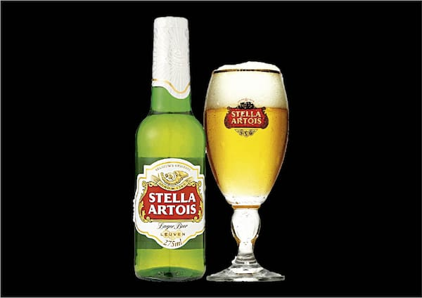 100014 - cerveja Stella Artois long neck 275 ml.