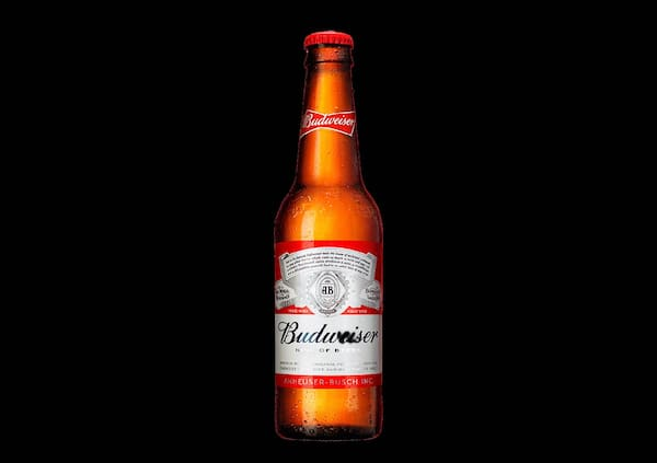 100015 - cerveja budweiser long neck 375 ml.