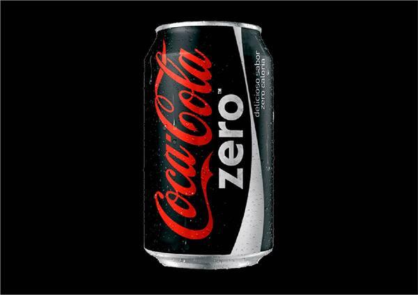 100002 - coca cola zero 350 ml.