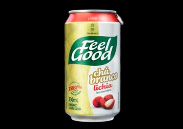 100032 - Chá Feel Good Branco com Lichia - 330ml