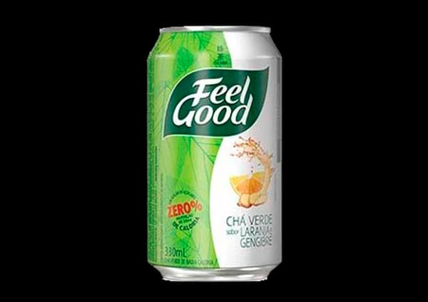 100034 - Chá Feel Good Verde de Laranja com gengibre - 330ml