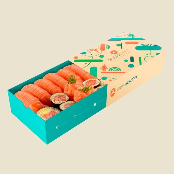 107042 - linha zero carb - petite box salmão - 14un
