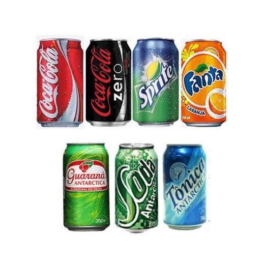 Refrigerante - lata 350ml