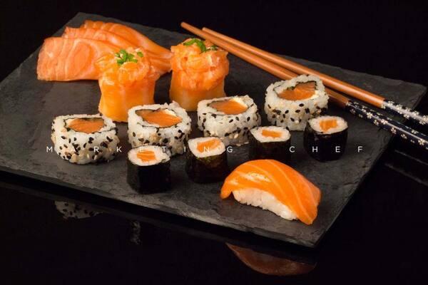 600 - combo salmão  (16 unid) !!! NOVO !!!