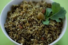 Porção  arroz de cuxa
