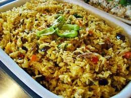 Porção arroz de mariscos