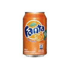 Fanta laranja (lata - 350 ml)