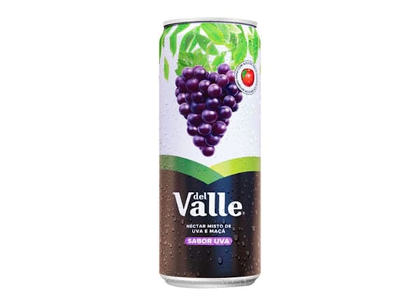 Suco Del Valle uva lata - 290ml