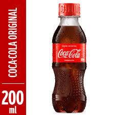 Coca cola mini garrafa 200ml