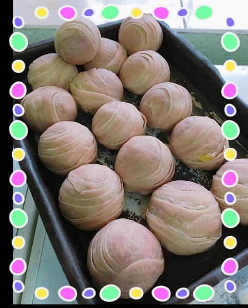 Bolinho folhado recheado de grão bico e cogumelo shitak(vagano)