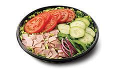 Salada frango teriyaki